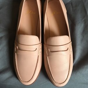 J. Crew Shoes - J. Crew Ryan Penny Loafer -Sunwashed Pink Size 6.5